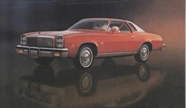 Malibu Classic Landau Coupe,  US postcard, standard size, 1977