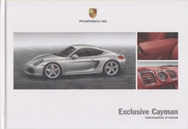 Cayman Exclusive brochure, 44 pages, 11/2012, hard covers, Dutch
