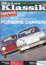 911 Carrera RS vs. 356 Carrera test reprint, 12 pages, 1/2005, German language