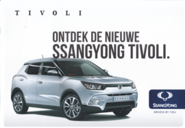 Tivoli brochure, 8 pages, Dutch language, 2015
