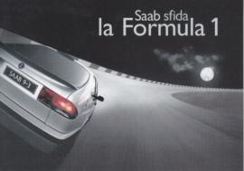 9-3 Hatchback postcard, A6-size, Citrus Promotion, Italian language, # 0730