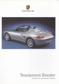 Boxster Tequipment brochure, 28 pages, 08/1999, German %