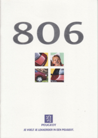 806 MPV brochure, 28 pages, A4-size, 1/1997, Dutch language