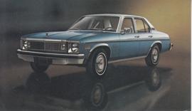 Concours Sedan,  US postcard, standard size, 1977