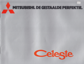 Celeste 1600/2000 brochure, 16 pages, about 1976, Dutch language