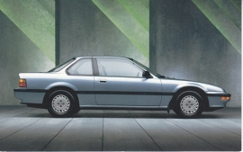 Prelude S, US postcard, standard size, 1989