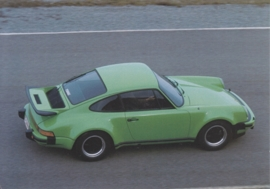 911 (930) Turbo, Atlas Collection postcard # 4, A6-size postcard, Swiss, 2015