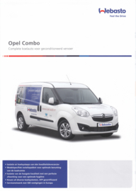 Combo temperature control brochure, 4 pages, DIN A4-size, 2015, Dutch language