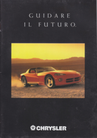 all models & Jeep all models, A5-size, 20 pages, 1992, Italian language
