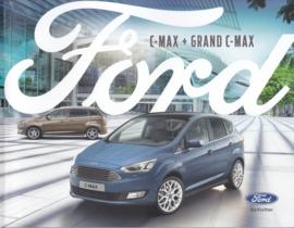 C-Max & Grand C-Max brochure, 64 pages, 05/2018, Dutch language