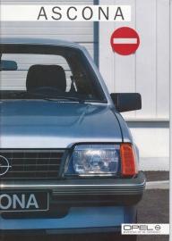 Ascona brochure, 32 pages, 10/1984, Dutch language