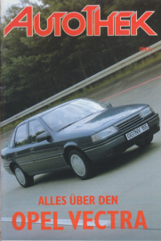 issue # 27*), Opel Vectra, 32 pages, 10/1988, German language