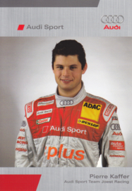 DTM racing driver Pierre Kaffer, unsigned postcard 2005 season, German language