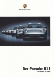 911 - the first 40 years, 6 pages, 03/2003, German