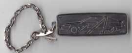 Alpine Renault A610, key chain, metal
