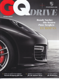 GQ drive magazine, 36 pages, issue 8/2014, German language