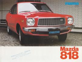 818 brochure, 12 pages, 12/1976, Dutch language