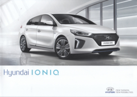 Ioniq brochure, 16 pages, 06/2016, Dutch language