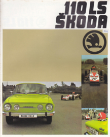 110 LS Sedan brochure, 16 pages, Dutch language, about 1980