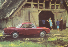 Karmann Ghia 1500 postcard, DIN A6-size, unused, # 157.163.00