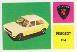 Peugeot 104 Hatchback, 4 languages, # 142