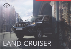 Land Cruiser range with Executive brochure, 48 pages, 10/2020, Dutch language