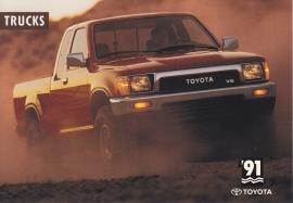 Pick-up Trucks, US postcard, 1991, # 31046-91