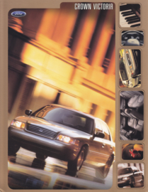 Crown Victoria leaflet, 2 pages, English language, 2000, USA