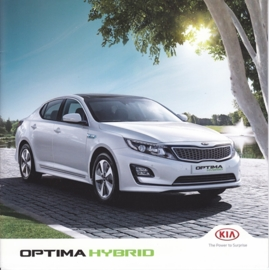 Optima Hybrid brochure, 12 pages, 09/2014, Dutch language