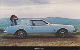 Riviera, US postcard, standard size, 1980