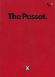Passat brochure, 24 pages., A4-size, English language, 2/1985