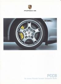 Ceramic brakes - PCCB brochure, 12 pages, 06/2004, Dutch language