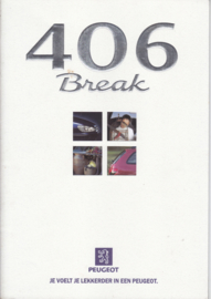 406 Break brochure, 28 pages, A4-size, 10/1997, Dutch language