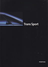 Trans Sport 1995, 16 page folder, Dutch language