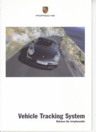 Vehicle Tracking System brochure, 6 pages, 10/2005, English