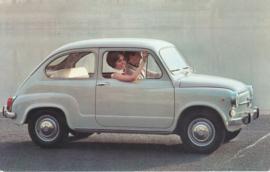 600 D, standard size, Italian postcard, undated, about 1965