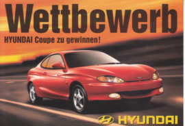 Coupe 2000 FX 16V, DIN A6-size postcard, German language, 1997, Swiss