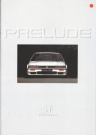 Prelude 1.8/2.0i brochure, 16 pages, A4-size, Dutch, about 1987