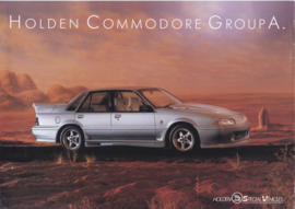 Commodore Group A by HSV leaflet, 2 pages, 02/1988, English language