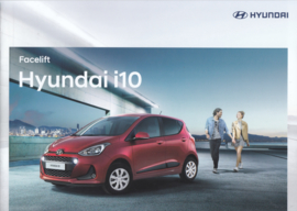 i10 Hatchback brochure, 16 pages, 01/2017, Dutch language