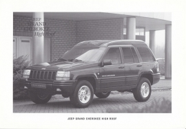 Grand Cherokee High Roof, 2 pages, 02/1996, Dutch language