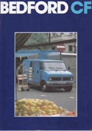 CF Vans brochure, 8 pages, about 1976, Dutch language