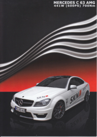 C 63 AMG Coupe SKN Tuning brochure. 4 pages, 11/2013, German language