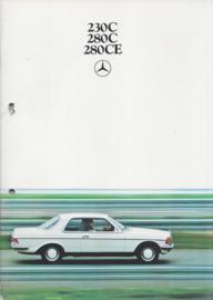230C/280C/280CE Coupe brochure, 48 pages, 10/1977, Dutch language