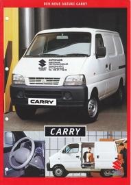 Carry Van brochure, 6 pages, 04/1999, German language