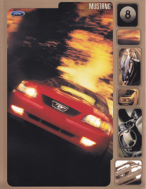 Mustang leaflet, 2 pages, English language, 2000, USA
