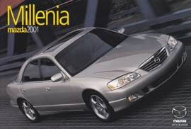 Millenia Sedan, 2001, US postcard, A5-size