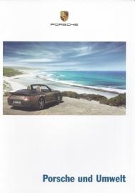 Porsche & Environment, 36 pages, 10/2007, German language