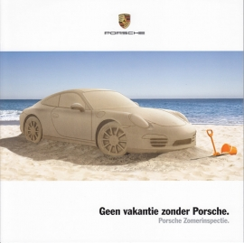 911 - 50 years, Summer inspection brochure, 8 pages, 2013, Dutch