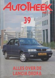 issue # 39, Lancia Dedra, 32 pages, 1/1991, Dutch language